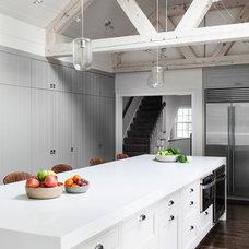 Transitional Kitchen by LDa Architecture & Interiors