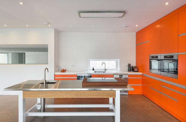 Contemporary Kitchen by Meitheal Design Partners (formerly PLM Architects)
