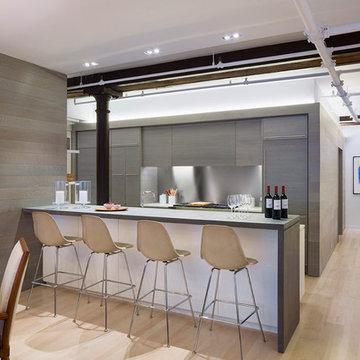 Meatpacking Loft:  kitchen