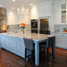 Contemporary Kitchen by Karen Viscito Interiors