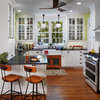 Before and After: Glass-Front Cabinets Set This Kitchen's Style
