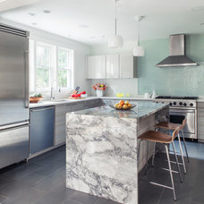 Contemporary Kitchen by Sean Litchfield Photography