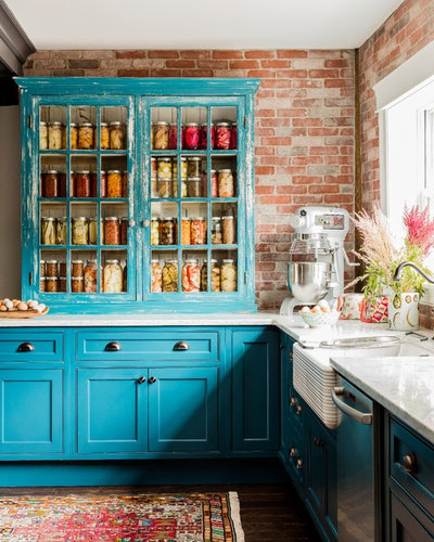 Country Kitchen by colorTHEORY Boston