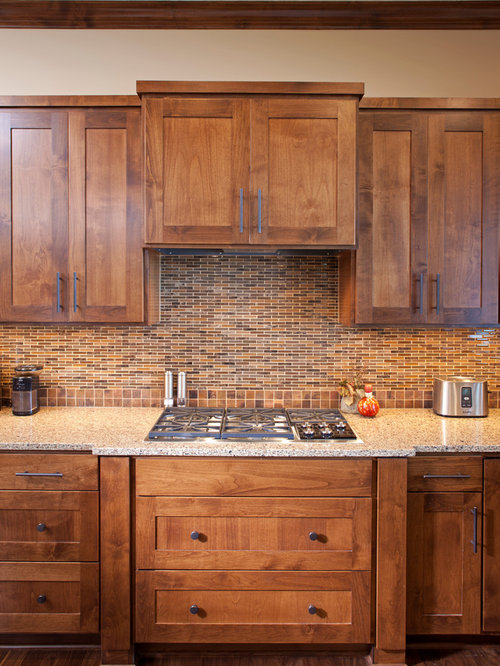 Clear Alder Cabinets | Houzz