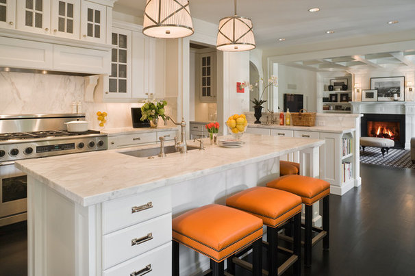 Traditional Kitchen by GR Home/Graciela Rutkowski Interiors