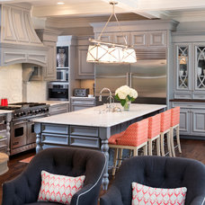 Eclectic Kitchen by John Kraemer & Sons