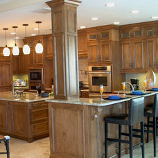 Mediterranean Kitchen Cabinets by Traditions Cabinetry