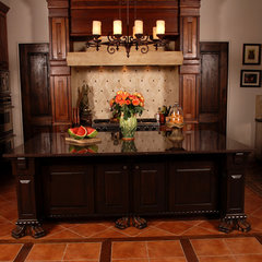 mediterranean kitchen by JOHN DANCEY Custom Designing/Remodeling/Building