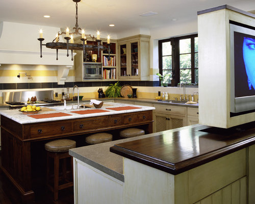 Wrought Iron Kitchen Island Home Design Ideas, Pictures