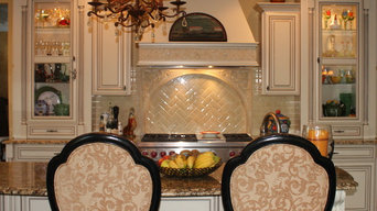 Mediterranean Custom Kitchen