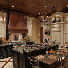 mediterranean kitchen by Weber Design Group, Inc.