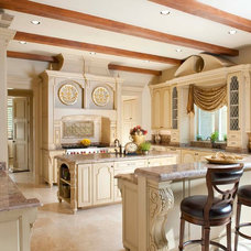 Mediterranean Kitchen by AVID Associates LLC