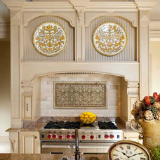 Traditional Kitchen by AVID Associates LLC