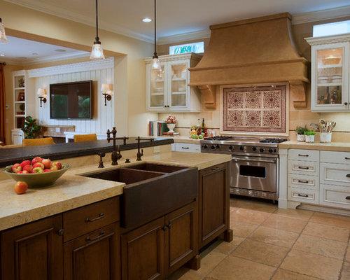 Copper Farmhouse Sink Home Design Ideas, Pictures, Remodel ...