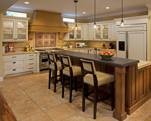 kitchens with bars and islands high bar island ideas pictures remodel and decor 24958