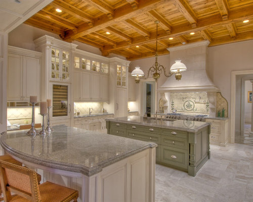 Green Kitchen Island Home Design Ideas, Pictures, Remodel and Decor