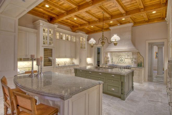 Mediterranean Kitchen by Affiniti Architects