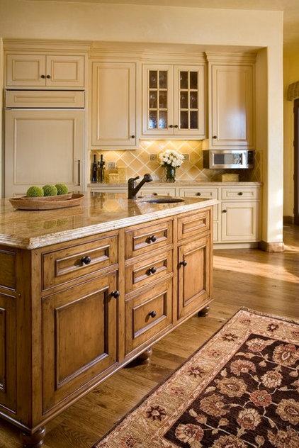 Mediterranean Kitchen by Andrea Bartholick Pace Interior Design