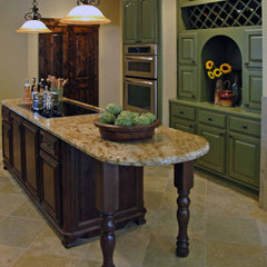 mediterranean kitchen by Carla Aston | Interior Designer