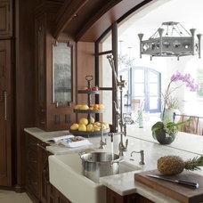 Mediterranean Kitchen by Carson Poetzl, Inc.