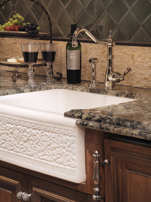 Sinks For Kitchen Thick Kitchen Sink Accessory Flat Kitchen Sink ...