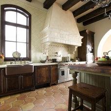Mediterranean Kitchen by Clay Imports