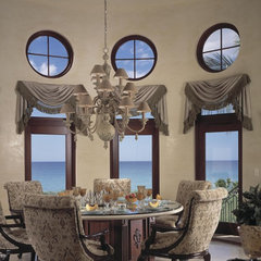 mediterranean kitchen by Clifford M. Scholz Architects Inc.