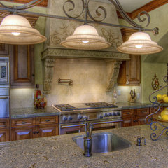 mediterranean kitchen by Danenberg Design