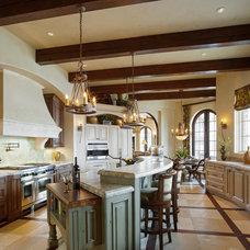 Mediterranean Kitchen by Denise Stringer Interior Design