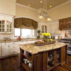 Mediterranean Kitchen by Design Focus