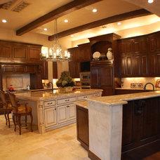 Mediterranean Kitchen by Design Visions of Austin