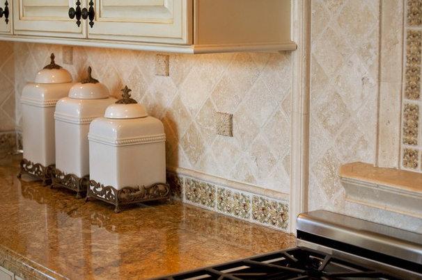 Mediterranean Kitchen by Design Focus