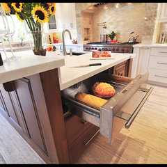 mediterranean kitchen by Fran Kerzner- DESIGN SYNTHESIS