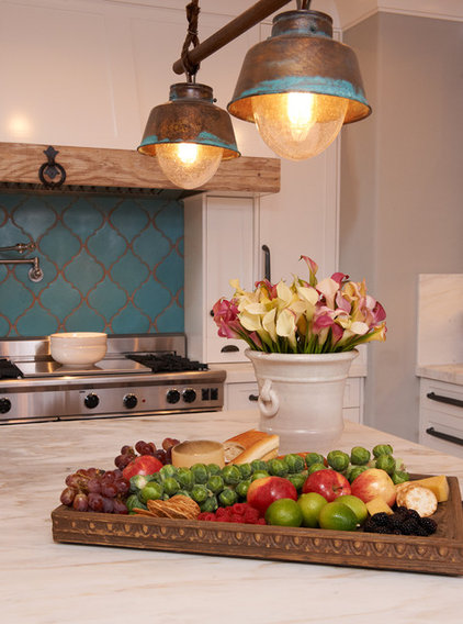 mediterranean kitchen by Intimate Living Interiors
