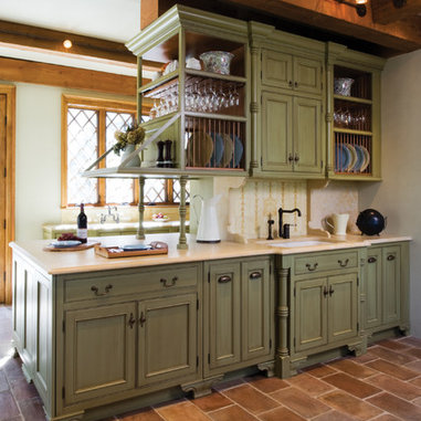 Sage Green Kitchen Cabinets Home Design Ideas, Pictures, Remodel and Decor
