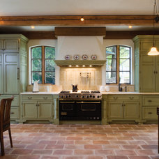 Mediterranean Kitchen by Kitchens of Los Gatos
