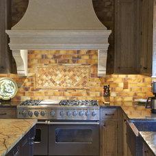 Mediterranean Kitchen by Kitchens Unlimited- Karen Kassen, CMKBD