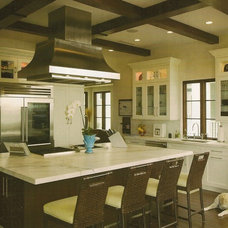 Mediterranean Kitchen by kmh design, inc.