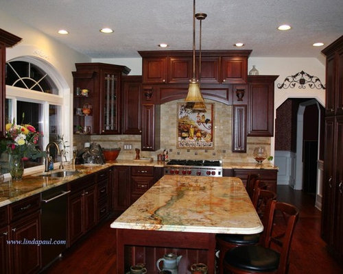 Granite Countertop Colors With Cherry Cabinets Home Decor