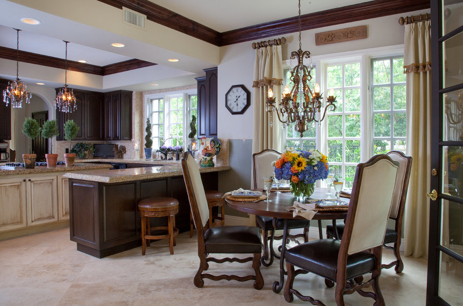 Mediterranean Kitchen Make-Over for Vicki Gunvalson of the RHOC