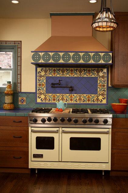 Mediterranean Kitchen by Marlene Oliphant Designs LLC