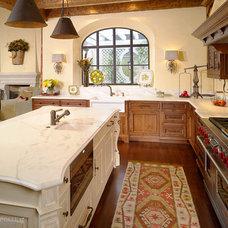 Mediterranean Kitchen by Morgan Creek Cabinet Company