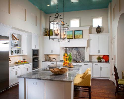 kitchen counters and backsplash | houzz