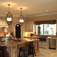Mediterranean Kitchen by Shannon Ggem ASID