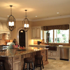 mediterranean kitchen by Shannon Ggem ASID- Ggem Design Co LLC