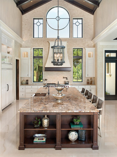 Mediterranean Kitchen by Van Emmerik Custom Homes