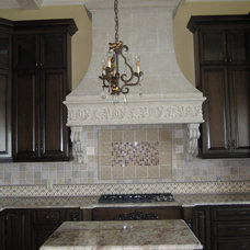 Traditional Kitchen by Lyz Hearn Designs, Inc.