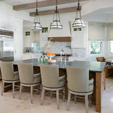 Mediterranean Kitchen by Tomaro Design Group