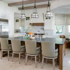 Mediterranean Kitchen by Tomaro Design Group
