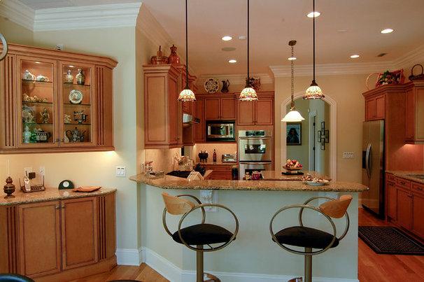 Mediterranean Kitchen by Pippin Home Designs, Inc